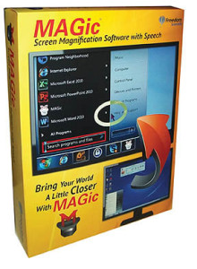 Computer Magnification & Low Vision Software