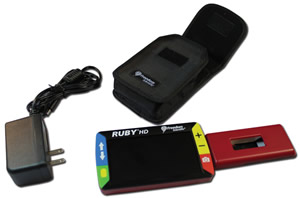 RUBY HD Handheld Portable Solution from NY Low Vision