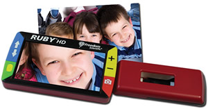 RUBY HD Handheld Portable Solution - NY Low Vision
