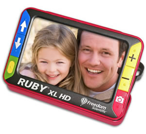 RUBY XL HD handheld video magnifier - NY Low Vision Products in NY and NJ