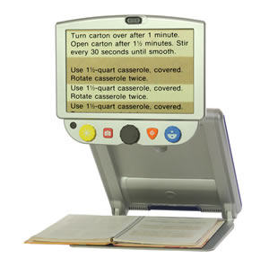 TOPAZ PHD Portable Video Magnifier by NY Low Vision