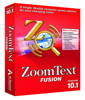 ZoomText Fusion Magnification Software - NY Low Vision