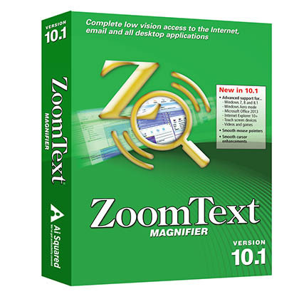 ZoomText Magnifier Magnification Software - NY Low Vision and Visibility Inc.