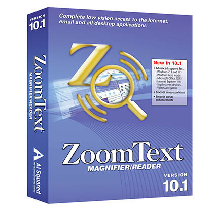 ZoomText Magnifier/ReaderMagnification Software - NY Low Vision