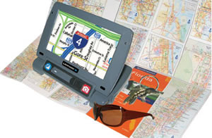 Ruby Sapphire Handheld Video Magnifier from NY Low Vision