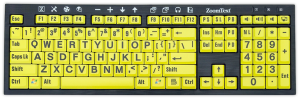Low Vision Keyboard